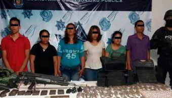 Detienen a seis personas por emboscada de policías en Zihuatanejo
