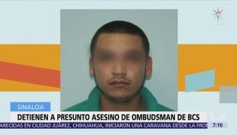 Detienen a presunto asesino del presidente de la CEDH BCS