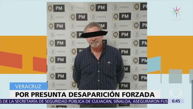 Detienen al exdirector de Servicios de Periciales de la Fiscalía de Veracruz