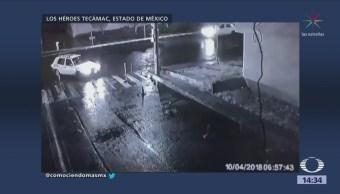 Divulgan imágenes de secuestro en Héroes de Tecámac