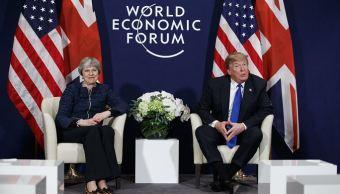 Trump visitará Reino Unido en julio para reunirse con Theresa May