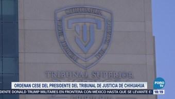 Scjn Invalida Nombramiento Presidente Tribunal Chihuahua