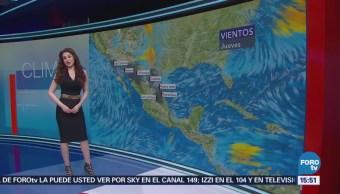 El Clima A las tres con Mayte Carranco