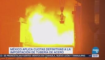 Gobierno México Impone Cuotas Compensatorias