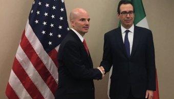 Secretario de Hacienda asiste a reuniones del FMI en Washington