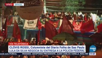 Cualquier Momento Lula Da Silva Podría Entregarse Policía