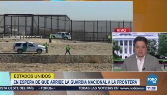 En espera de que la Guardia Nacional arribe a la frontera con México