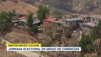 Santos Reyes Yucuná Guían Por Colores Símbolos Emitir Voto