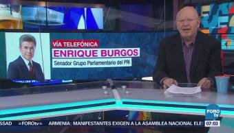 Enrique Burgos rechaza que se quiera congelar la iniciativa de eliminación del fuero