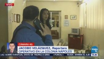 Entrevistan Mujeres Tras Operativo Colonia Nápoles Cdmx