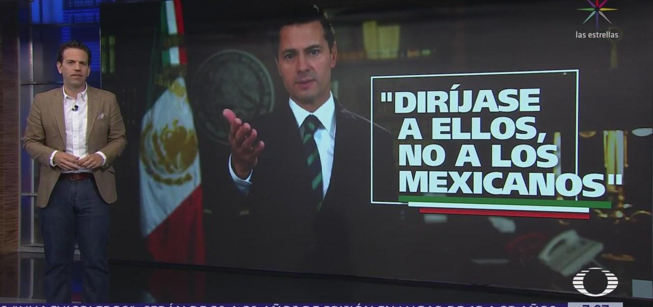 EPN a Trump: Sólo actuaremos en el mejor interés de los mexicanos