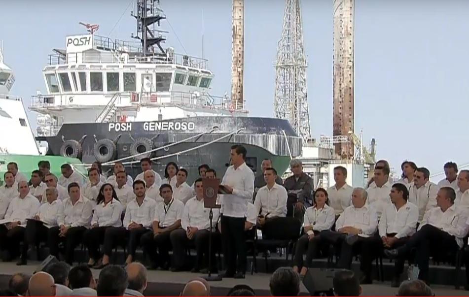 EPN emite declaratoria de Zona Económica Especial en Campeche