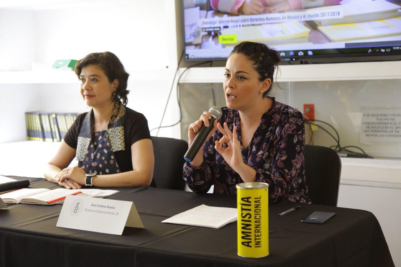 Monitorea #MexicoSinMiedo2018 si candidatos tratan temas de derechos humanos