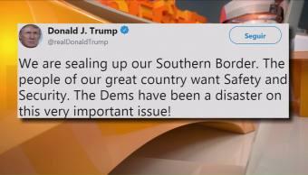Estamos Sellando Frontera México Trump Través De Twitter