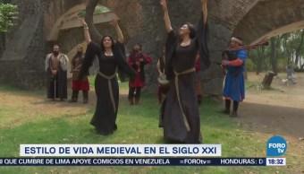 Estilo Vida Medieval Llega Marquesa