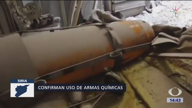 Eu Dice Pruebas Siria Usó Armas Químicas