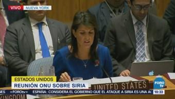 EU no permitirá que régimen de Assad siga usando armas químicas