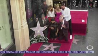 Eva Longoria recibe su estrella en Hollywood