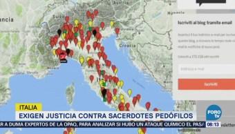 Exigen Justicia Contra Sacerdotes Pedófilos Italia