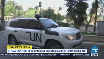 Expertos Opaq Siria Investigar Ataque Químico Duma