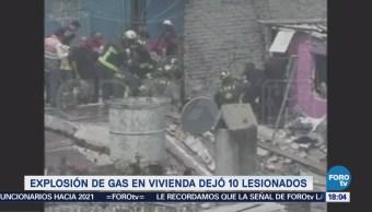 Explosión Iztacalco Dejó Diez Lesionados