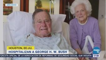 Expresidente George h. W. Bush Fue Hospitalizado