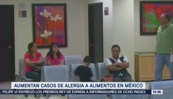 Extra Extra: Aumentan casos de alergia a alimentos en México