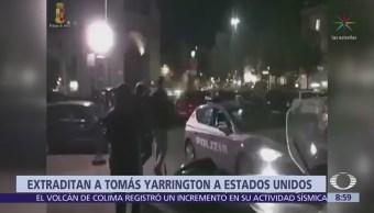 Extraditan al exgobernador de Tamaulipas Tomás Yarrington a EU