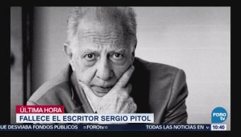 Fallece el escritor mexicano Sergio Pitol