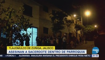Fiscalía Jalisco Investiga Asesinato Sacerdote