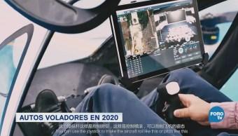 Autos Voladores Llegarán Cielo 2020