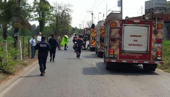 Fuga de amoniaco deja cuatro intoxicados en Lázaro Cárdenas, Michoacán