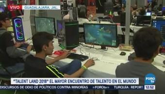 'Gamers' también tienen un espacio en el 'Talent Land 2018'