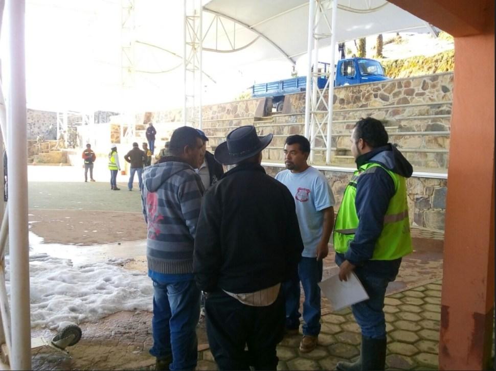oaxaca implementa operativo por granizo y lluvia en huajuapan
