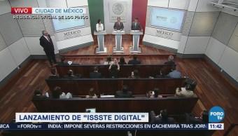 Gobierno federal destaca los servicios de ISSSTE digital