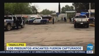 Grupo armado ataca una preparatoria en Tamaulipas