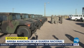Guardia Nacional llega la zona fronteriza de Texas
