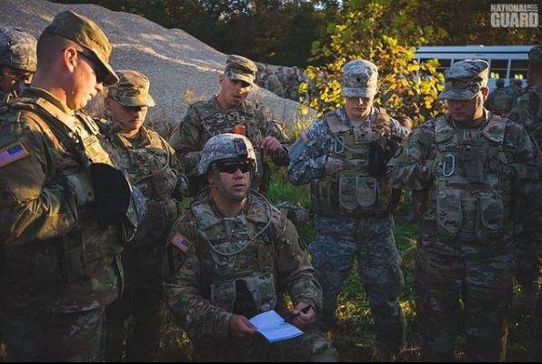 Las tareas de la Guardia Nacional de Estados Unidos