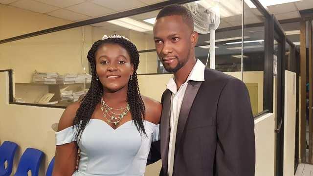 primera pareja haitianos se casa mexicali baja california
