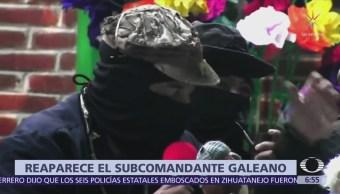 Hidra capitalista evitará triunfo de AMLO, denuncia el subcomandante Galeano