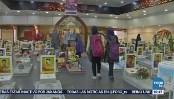 Homenaje a los muertos en Líbano