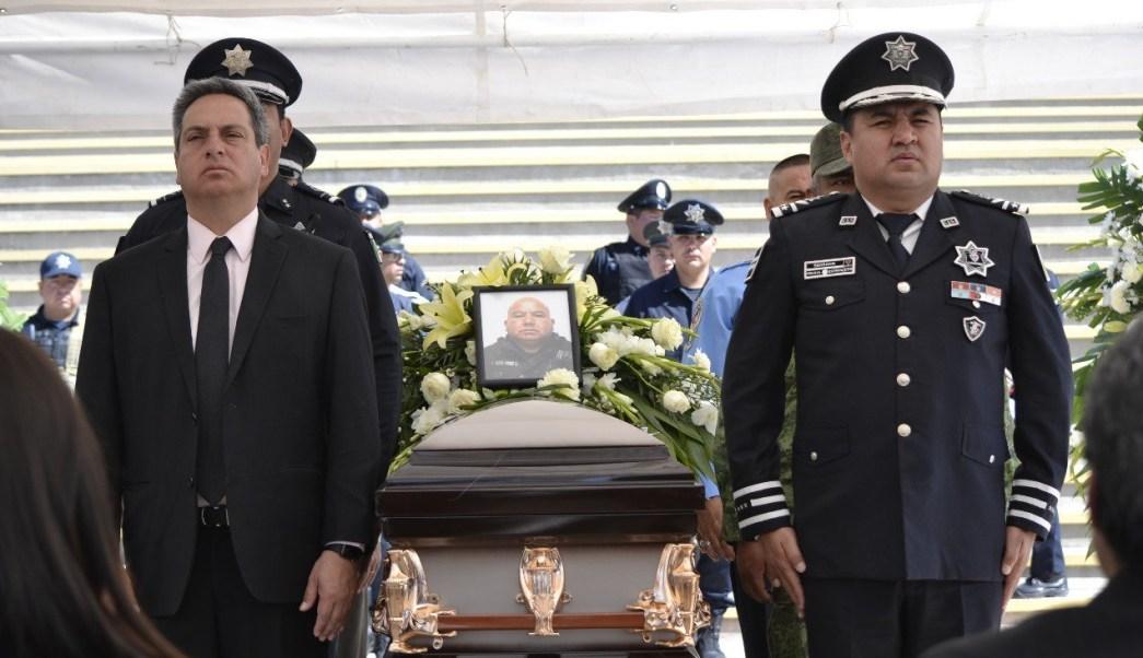 Rinden honores a policías caídos el fin de semana en Chihuahua
