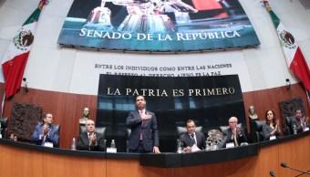 Senado celebra 75 aniversario del IMSS con sesión solemne