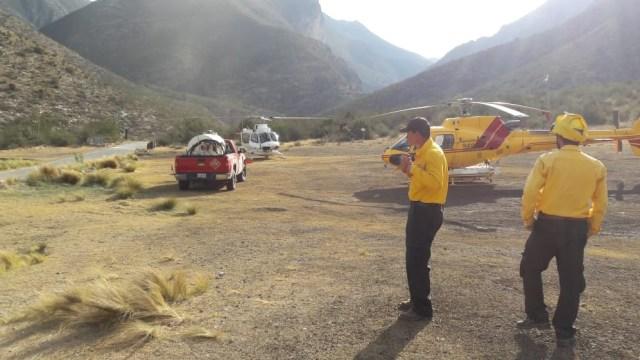 Controlan incendio forestal en sierra de Zapalinamé en Saltillo Coahuila