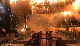 clausuran salon fiestas jalisco incendio boda