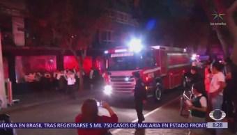 Incendio en universidad de la colonia Roma, CDMX