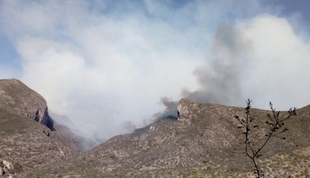 Incendio consume Cañón de San Lorenzo en Coahuila; detienen a presuntos responsables