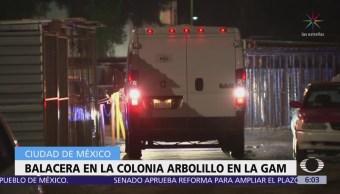 Inician carpeta de investigación por balacera en colonia El Arbolillo, CDMX