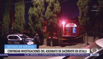 Investigan asesinato de sacerdote en Cuautitlán Izcalli, Edomex