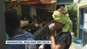 Italia busca solución a llegada de migrantesItalia busca solución a llegada de migrantes